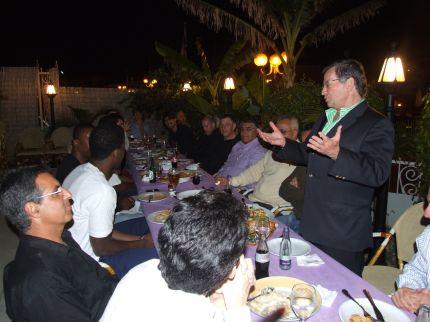 מסיבת ניצחון לעירוני נהריה בהשתתפות ראש העיר מר ז'קי סבג